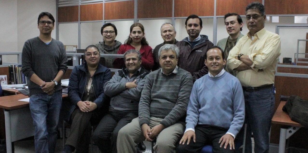 Integrantes del grupo (Noviembre, 2016)
